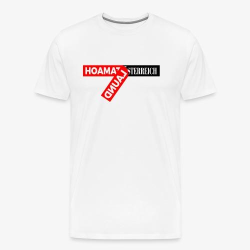 hoamatlaund tagloose und Österreich - Männer Premium T-Shirt