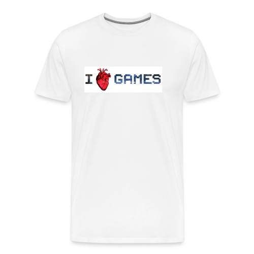i_love_games-jpg - Maglietta Premium da uomo