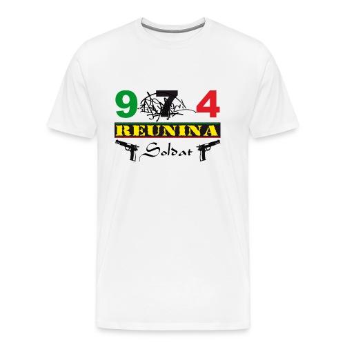 974 ker kreol ikon rasta 06 - T-shirt Premium Homme