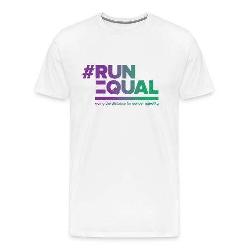 Gender Equality in Athletics #runequal - Men's Premium T-Shirt
