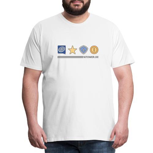 ntower items - Männer Premium T-Shirt