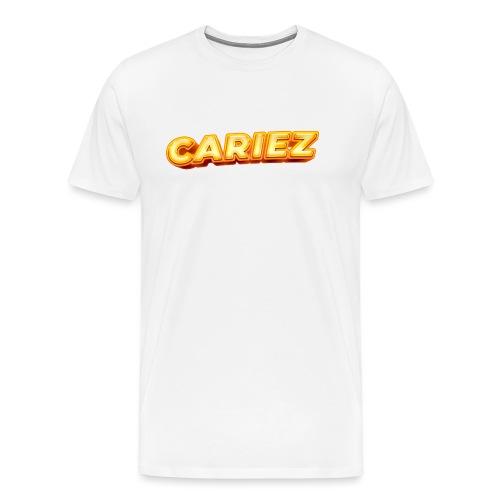 Cariez logo HQ - Premium-T-shirt herr