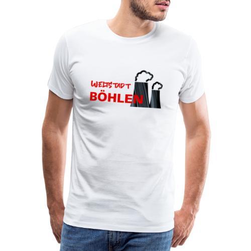 Weltstadt Böhlen - Männer Premium T-Shirt