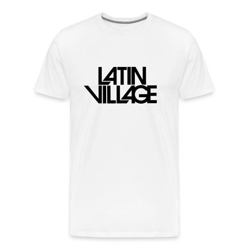 Logo Latin Village 30 - Mannen Premium T-shirt