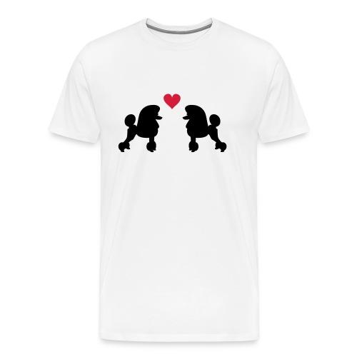 Villakoira tupla1 - Miesten premium t-paita