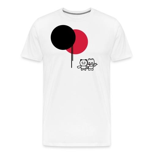 BALLOONS - FEELIN'IT - Premium T-skjorte for menn