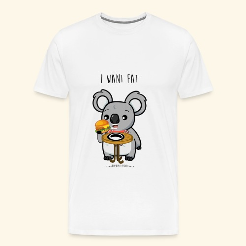i want fate - T-shirt Premium Homme