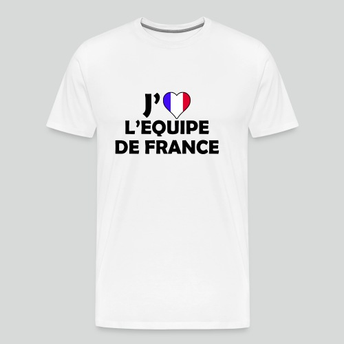 J'aime L'équipe De France (N) - T-shirt Premium Homme