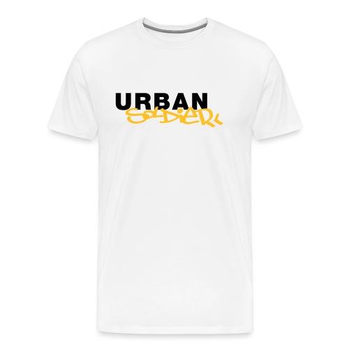 Urban Soldier Classic Solo Logo - Männer Premium T-Shirt