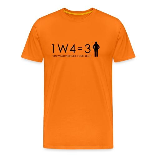1W4 3L - Männer Premium T-Shirt