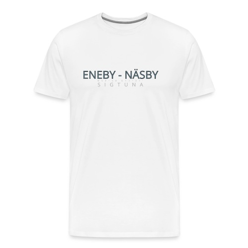 Eneby-Näsby Sigtuna - Premium-T-shirt herr