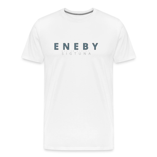 Eneby Sigtuna logo - Premium-T-shirt herr