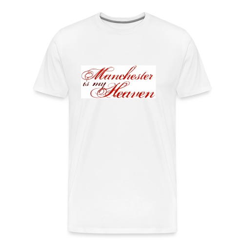 Manchester is my heaven - Men's Premium T-Shirt