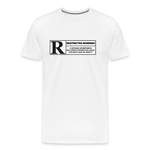 rated cup png - Männer Premium T-Shirt