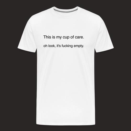 cup of care - Männer Premium T-Shirt