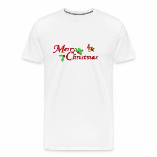 -Merry Christmas- - Männer Premium T-Shirt