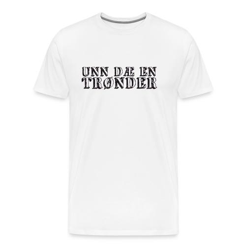 unndae - Premium T-skjorte for menn