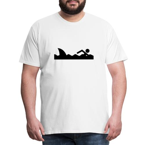 Haifischfutter - Männer Premium T-Shirt