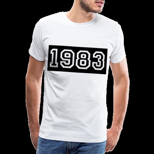 1983 - Camiseta premium hombre