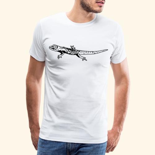 Gecko Lizard Seychellen Seychelles Cute Reptile - Männer Premium T-Shirt