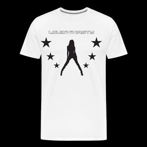 NastyGirls - Premium-T-shirt herr