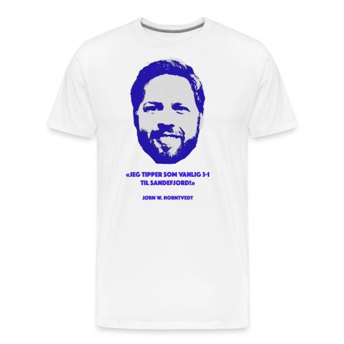 Horntvedt - Premium T-skjorte for menn