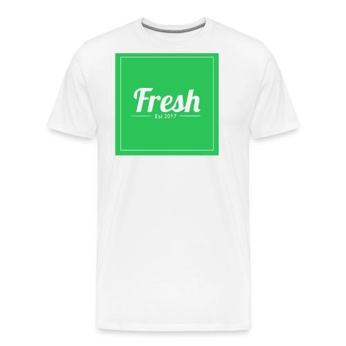 Green square - Men's Premium T-Shirt