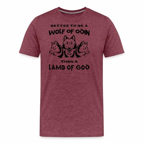 Wolf of Odin - Camiseta premium hombre