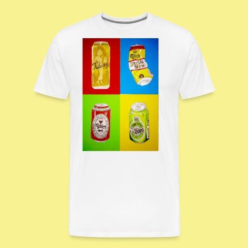 Øller's - Herre premium T-shirt