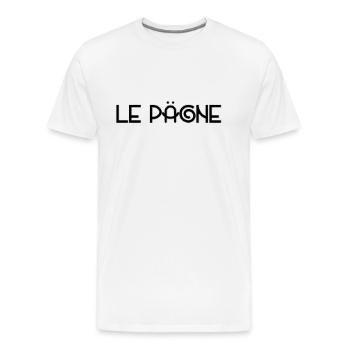 Le Pägne Logo Noir - T-shirt Premium Homme