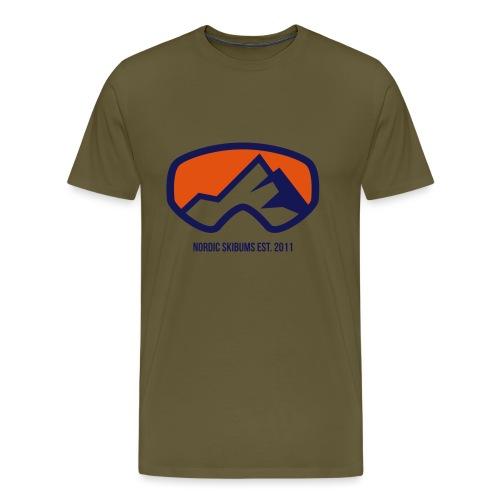Nordic skibums original - Men's Premium T-Shirt