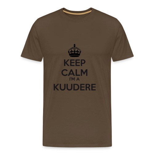 Kuudere keep calm - Men's Premium T-Shirt