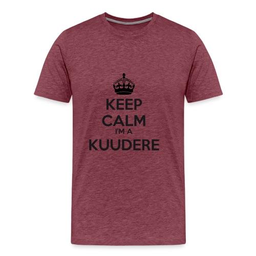 Kuudere keep calm - Men's Premium T-Shirt