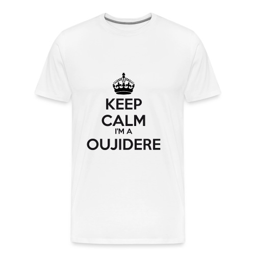 Oujidere keep calm - Men's Premium T-Shirt