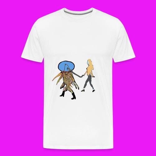 walk your fish - Men's Premium T-Shirt