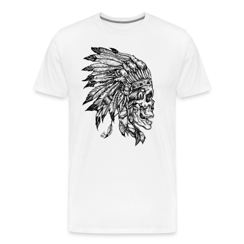Skull WF2 - T-shirt Premium Homme