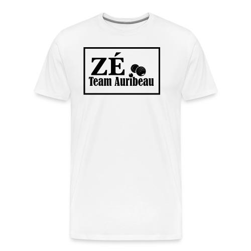 Logo Zé Blanc modifiable - T-shirt Premium Homme