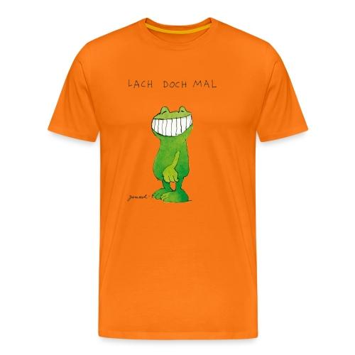 Janoschs Günter Kastenfrosch Just Smile - Männer Premium T-Shirt