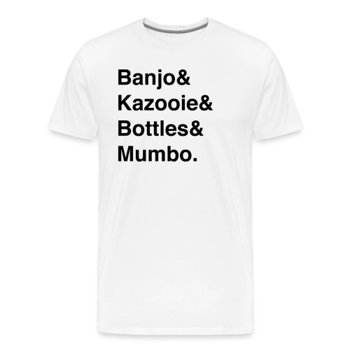 Banjo Kazooie - Men's Premium T-Shirt