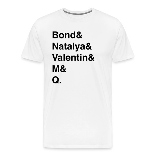 Goldeneye Heroes - Men's Premium T-Shirt