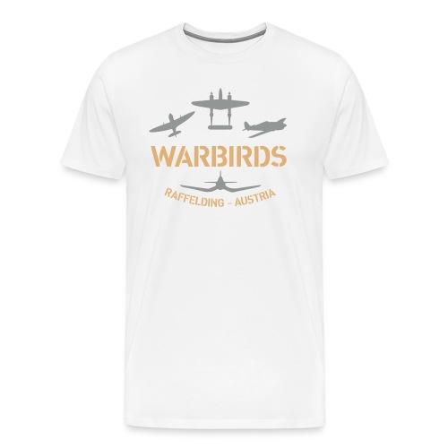 Kontrast-Shirt Warbirds Raffelding - Männer Premium T-Shirt