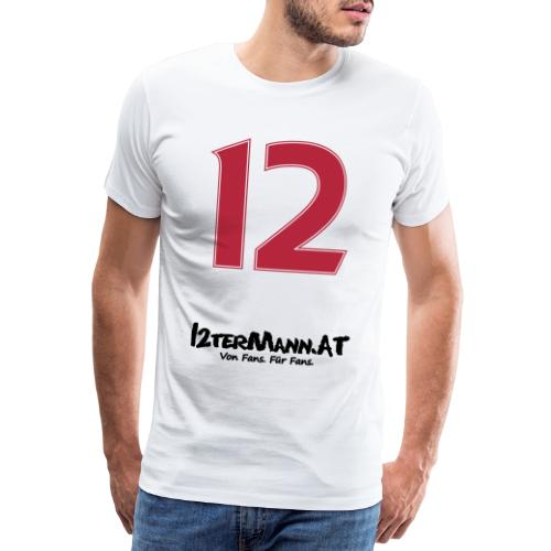 12termann mitfans - Männer Premium T-Shirt