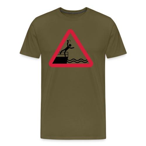 Bitte kein Bier Verschütten! - Männer Premium T-Shirt