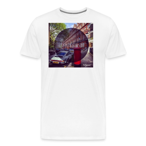 luck is on your side - Men's Premium T-Shirt