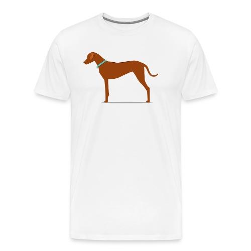 ridge png - Männer Premium T-Shirt