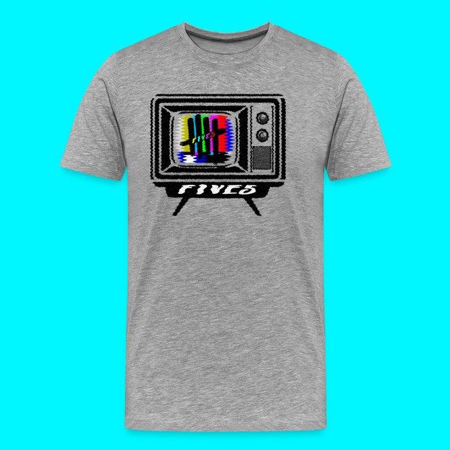 FIVES old tv broadcast