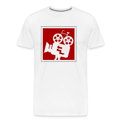 logo bicinepresa - Maglietta Premium da uomo