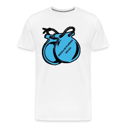 Escuela Flamenco Malaga - Männer Premium T-Shirt