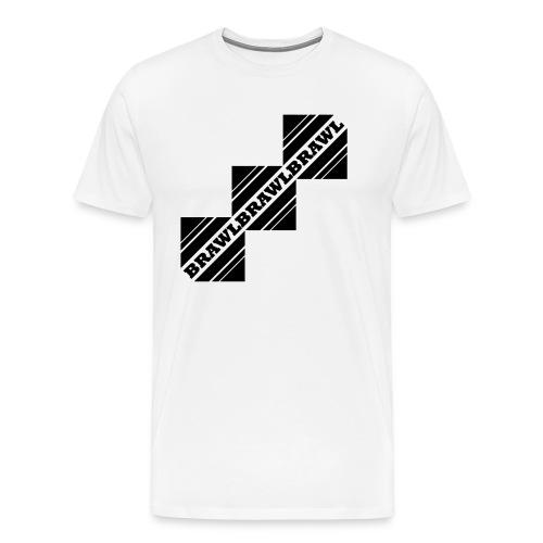 BRAWL TEST - Mannen Premium T-shirt