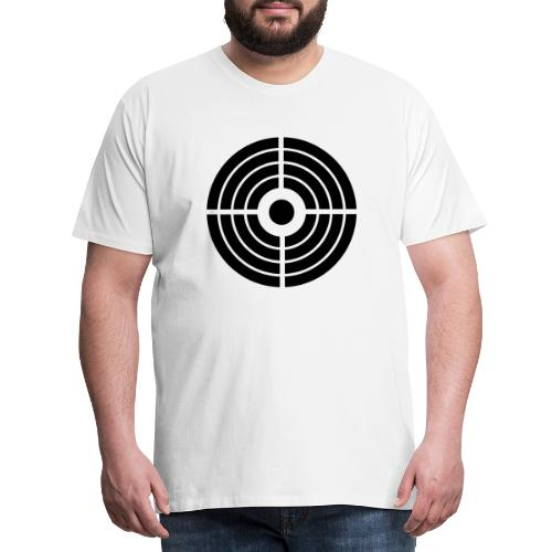 Zielscheibe - Schütze - Männer Premium T-Shirt
